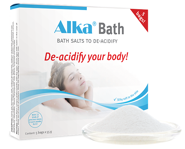 Alkalizing and relaxation with  Alka ®    Bad